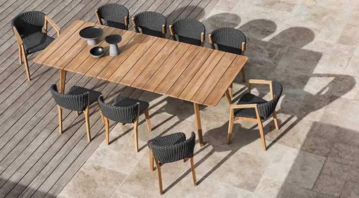 Tavolo e sedie Knit - ETHIMO